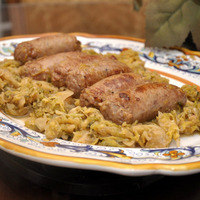 Verza e salsiccia (Cabbage and Sausage)