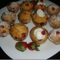 Very Berry Starwberry Muffins