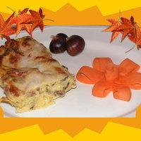 lasagne,e castagna