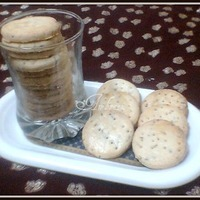 Saltish Zeera Cookies