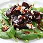 Maple syrup (Recipe: spinach salad with glazed beets and blue cheese)