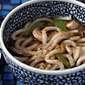 Beef broth (Recipe: seven-spice udon noodle soup)