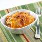 Sweet Potato, Apple and Caramelized Onion Gratin