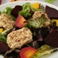Beet Salad with Pecan Crusted Goat Cheese