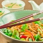 Stir fry vegetables with Udon Noodles