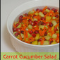 Carrot Cucumber Salad