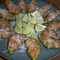 Turkey stuffed jalapenos