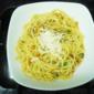 Spaghetti with Coffee sauce