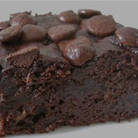 Image of Allergy Friendly Double Chocolate Brownies Recipe, Cook Eat Share