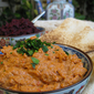 "Muhammara – Roasted Red Pepper and Walnut Paste - "" Kurma Dasa"""