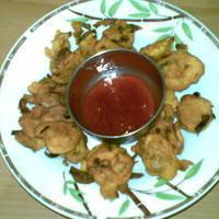 Onion Fritters (Kanda Bhajji)