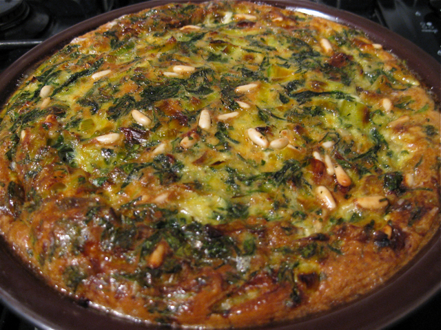 "Persian Style Baked Herb Omelet - ""Healing Foods for Special Diets ..."