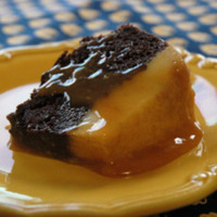 Image of Chocolate Flan Cake Recipe, Cook Eat Share