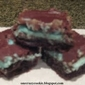 Triple Layer Mint Brownies