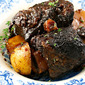 Soy sauce (Recipe: oven-braised beef short ribs)