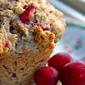 Cranberry tangerine muffins