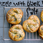Homemade Pretzels with Black Lava Salt: International Incident Salt Party