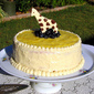 Lemon Explosion: Lemon Sponge Cake with Lemon Curd Filling & Cream Cheese Frosting