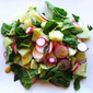 Radish Salad with Honey & Horopito Dressing