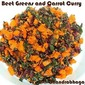 Beet Greens and Carrot Curry