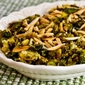 Recipe for Shredded and Roasted Brussels Sprouts with Toasted Almonds and Parmesan