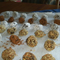 1-2-3 Chocolate TRUFFLES made easy