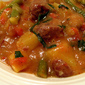 Italian-Style Lamb Stew with Green Beans, Tomatoes, and Basil