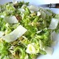 Brussels Sprouts Salad w/ Pecorino & Walnuts
