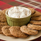 Chewy Ginger Cookies with Gingersnap Dip