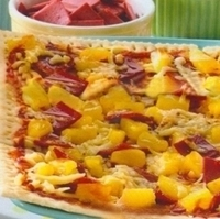Hawaiian Pizza-Crackers