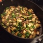 Sauteed Brussels Sprouts with Parsnips