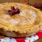 Apple Pie with Custard Pie Crust