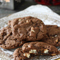 Double Chocolate Ginger & Hazelnut Cookies Recipe & Giveaway