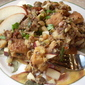 Chesapeake Memories Sausage and Oyster Dressing with Red Quinoa and Crisp Apples