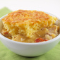 Cornbread Topped Turkey and Green Chile Casserole