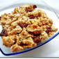 Apple & Chocolate Crumble (With Oats & Almonds)