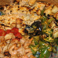 Image of Seafood Kabob -- Quincy Market Style Recipe, Cook Eat Share