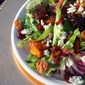Share Our Strength Holiday Table (...Squash, Bacon, Cranberry, & Gorgonzola Salad w/ Warm Cider Maple Vinaigrette and Candied Pecans)