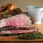 Herb Rubbed Roast Beef