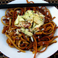 Roasted Dungeness Crab with Garlic Noodles
