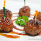 Meatballs with Bayou Bourbon Glaze and December Giveaway