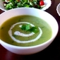 Light-n-easy Zucchini & Spinach soup