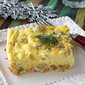 Smoked Salmon Egg Casserole with Potatoes & Dill Recipe