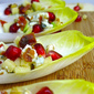 Appetizing Appetizer: Bacon, Blue Cheese & Pomegranate Endive Spears