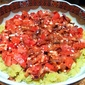Mashed Favas with Warm Tomatoes and Feta