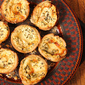 Invite Julia Child to Your Holiday Celebration by Making Her Easy Elegant Cheese Tartlets with only Five Ingredients