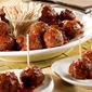 Beef Meatballs & Picante Glaze