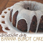 Chocolate Chip Banana Bundt Cake