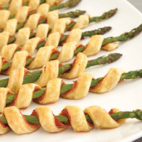 Image of Asparagus Spirals Recipe, Cook Eat Share