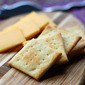 Homebaked Cheese Crackers